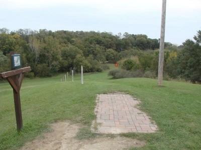Rogers Lakewood Park, Main course, Hole 14