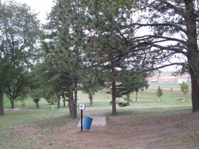 Lions Hillside Park, Main course, Hole 9 Long tee pad