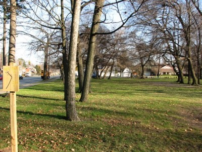 Garfield Park, Main course, Hole 4 Long approach