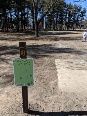 Hole 10 Garfield Park Grand Rapids Mi Disc Golf Courses Disc Golf Scene