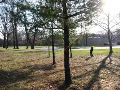 Garfield Park, Main course, Hole 7 Midrange approach