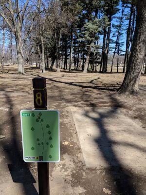 Hole 8 Garfield Park Grand Rapids Mi Disc Golf Courses Disc Golf Scene