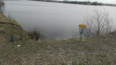 Patterson Lake, Main course, Hole 8 Putt