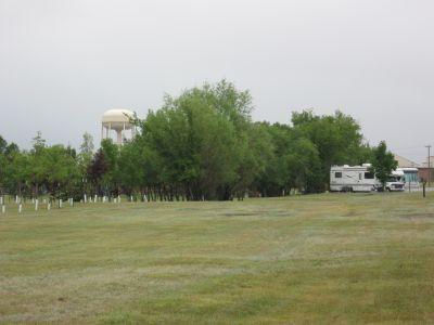 Minot Air Force Base, Main course, Hole 9 Long tee pad