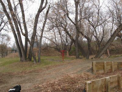Riverside Park, Main course, Hole 2 Midrange approach