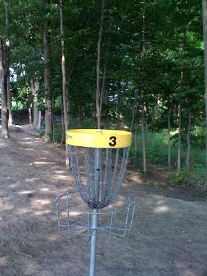 Old Farm Park, Main course, Hole 3 Reverse (back up the fairway)