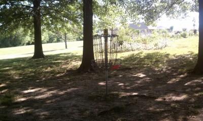 Proctor Lake Park, Main course, Hole 8 Putt