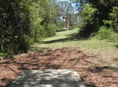 Joseph C. Miller DGC @ Binder Lake Park, Main course, Hole 13 Tee pad