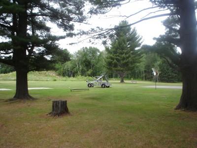 Silver Creek, Main course, Hole 4 Tee pad