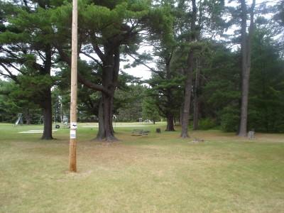 Silver Creek, Main course, Hole 1 Tee pad