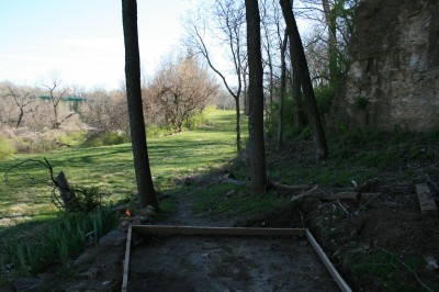 Kessler Park (Cliff Drive), Main course, Hole 8 Tee pad