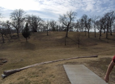 Swope Park, Main course, Hole 7 Long tee pad