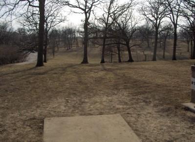 Swope Park, Main course, Hole 13 Long tee pad