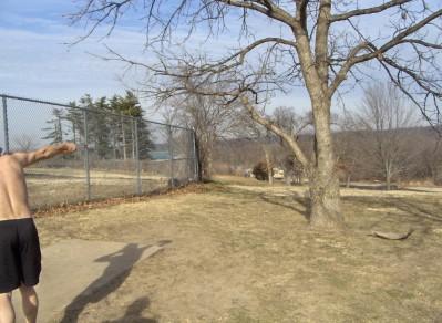 Swope Park, Main course, Hole 11 Long tee pad