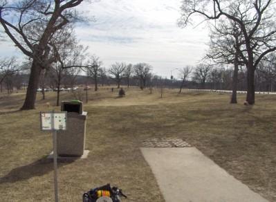 Swope Park, Main course, Hole 3 Long tee pad