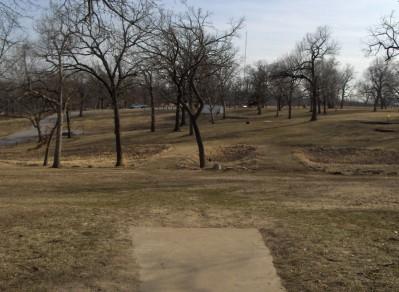 Swope Park, Main course, Hole 14 Long tee pad