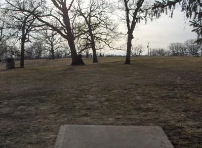 Swope Park, Main course, Hole 16 Long tee pad