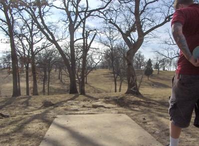 Swope Park, Main course, Hole 9 Long tee pad