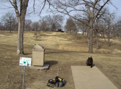 Swope Park, Main course, Hole 2 Long tee pad