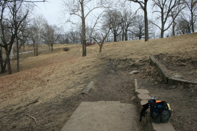 Water Works Park, Main course, Hole 11 Tee pad