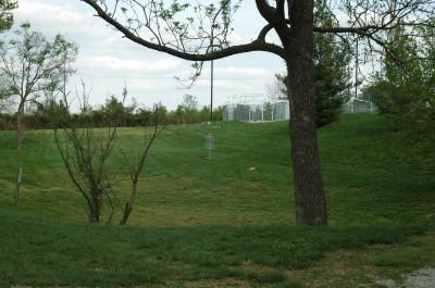 Grubaugh Park, Main course, Hole 18 Long approach