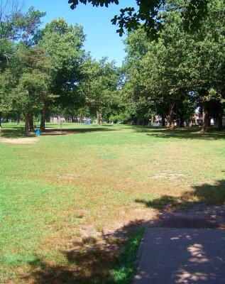 Oak Grove Park, Main course, Hole 7 Tee pad