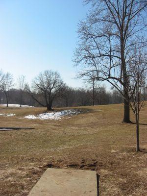 Sioux Passage Park, Main course, Hole 1 Tee pad