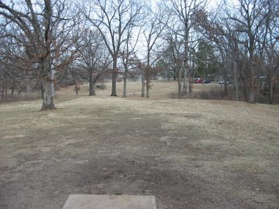 Jefferson Barracks Hist. Park, Main course, Hole 13 Tee pad