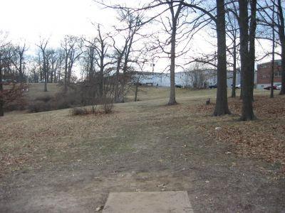 Jefferson Barracks Hist. Park, Main course, Hole 18 Tee pad