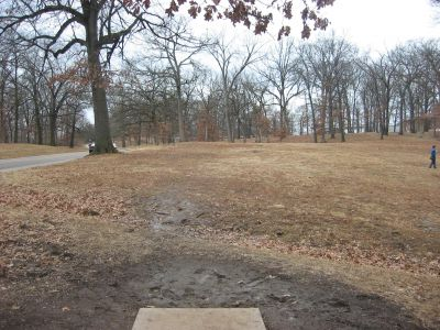 Jefferson Barracks Hist. Park, Main course, Hole 8 Tee pad