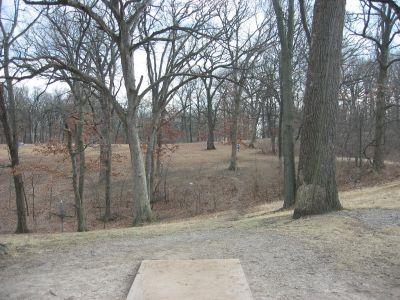 Jefferson Barracks Hist. Park, Main course, Hole 17 Tee pad