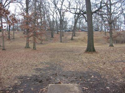 Jefferson Barracks Hist. Park, Main course, Hole 9 Tee pad