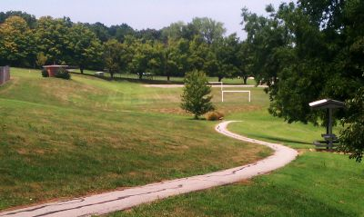 Pere Marquette Park, Main course, Hole 6 Tee pad