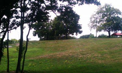 Pere Marquette Park, Main course, Hole 9 Tee pad