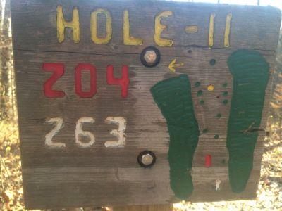 Quail Ridge, Main course, Hole 11 Tee pad