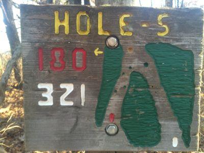 Quail Ridge, Main course, Hole 5 Tee pad