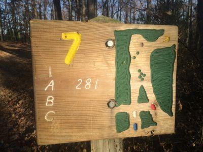 Quail Ridge, Main course, Hole 7 Tee pad