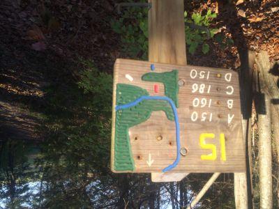 Quail Ridge, Main course, Hole 15 Tee pad