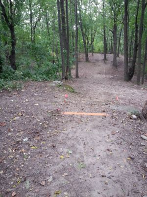 Holly Woods, Main course, Hole 17 Short tee pad