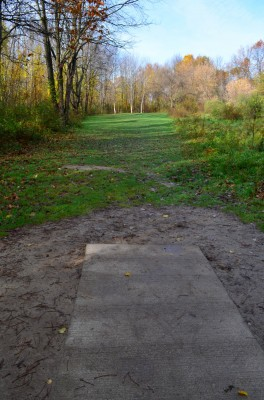 Holly Woods, Main course, Hole 3 Tee pad
