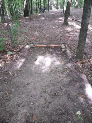 Holly Woods, Main course, Hole 15 Short tee pad