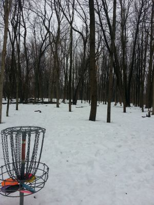 Holly Woods, Main course, Hole 22 Reverse (back up the fairway)