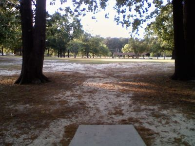Odell Weeks, Main course, Hole 9 Tee pad