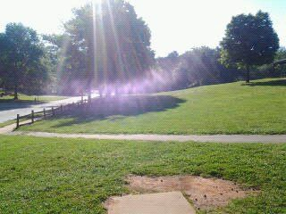 Holmes Park, Main course, Hole 1 Tee pad