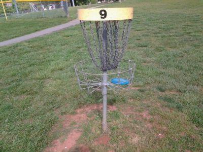 Holmes Park, Main course, Hole 9 Alternate pin