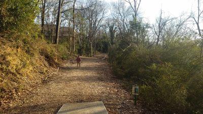 Riverview Park, Main course, Hole 3 Tee pad