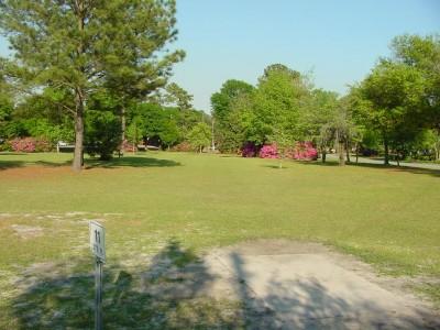 Park Circle, Main course, Hole 11 Tee pad