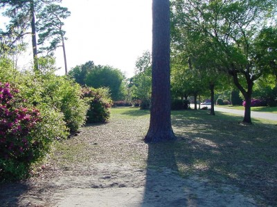 Park Circle, Main course, Hole 16 Tee pad