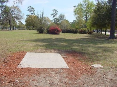 Park Circle, Main course, Hole 18 Tee pad
