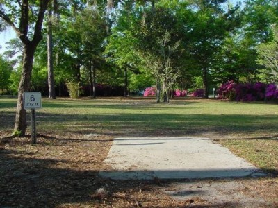Park Circle, Main course, Hole 6 Tee pad